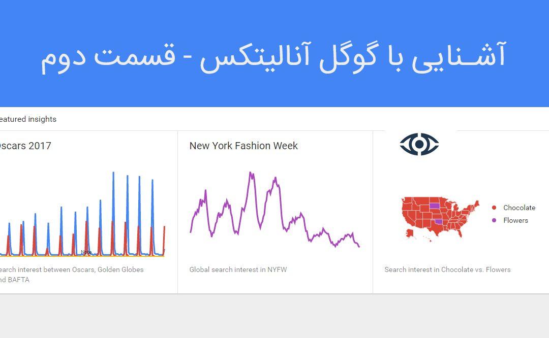 آشنایی با گوگل آنالیتیکس – قسمت دوم