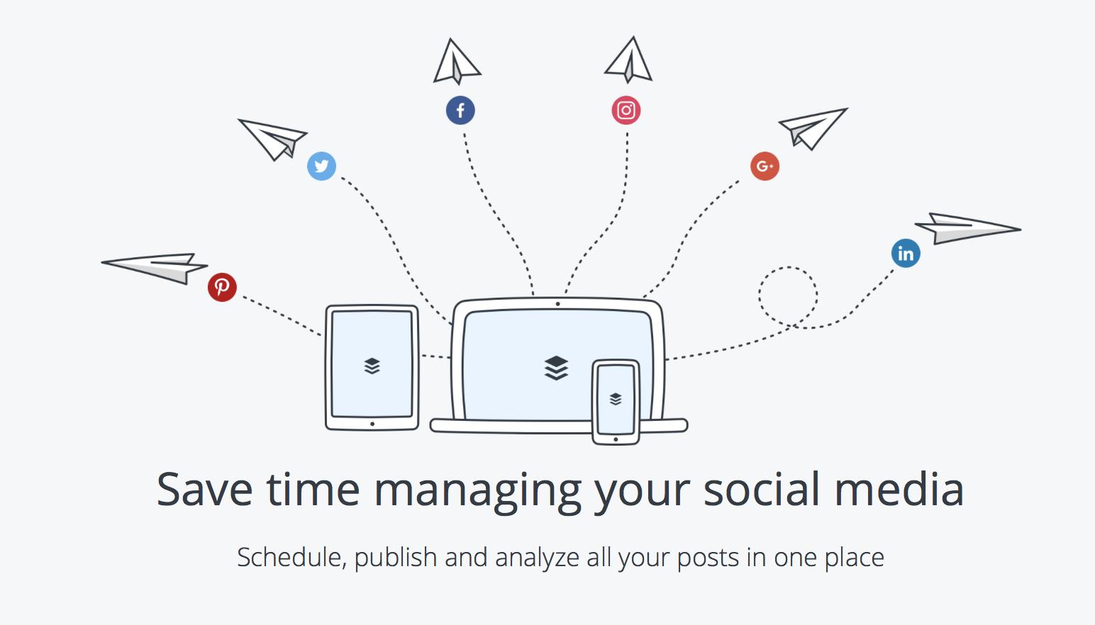 بافر به کاربران کمک می کند تا محتوای خود را به راحتی بر روی شبکه های اجتماعی منتشر کنند