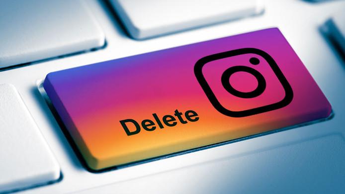 حذف کردن اکانت اینستاگرام